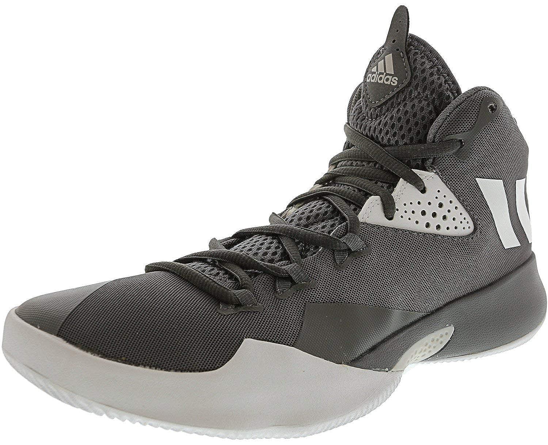 promo code 512d7 902b8 Amazon.com  adidas Mens Dual Threat 2017 High-Top Basketball Shoe   Basketball