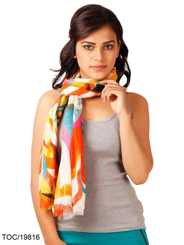 mujeres abrigo de la bufanda larga estola cachemira tela costura modal utiliza 74