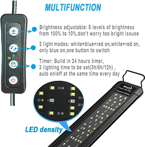 MingDak LED Aquarium Light