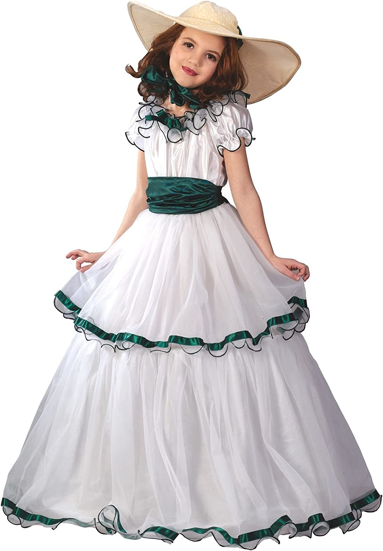 Southern Belle Dress Girls Child Halloween Costume