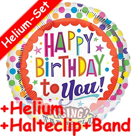 Canto * Globo Set * HAPPY BIRTHDAY TO YOU + HELIO RELLENO + ...