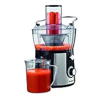 Moulinex Juice Express JU550D10 - Licuadora de 800 W con Capacidad de 2 L, Contenedor de Pulpa Transparente y 2 Velocidades