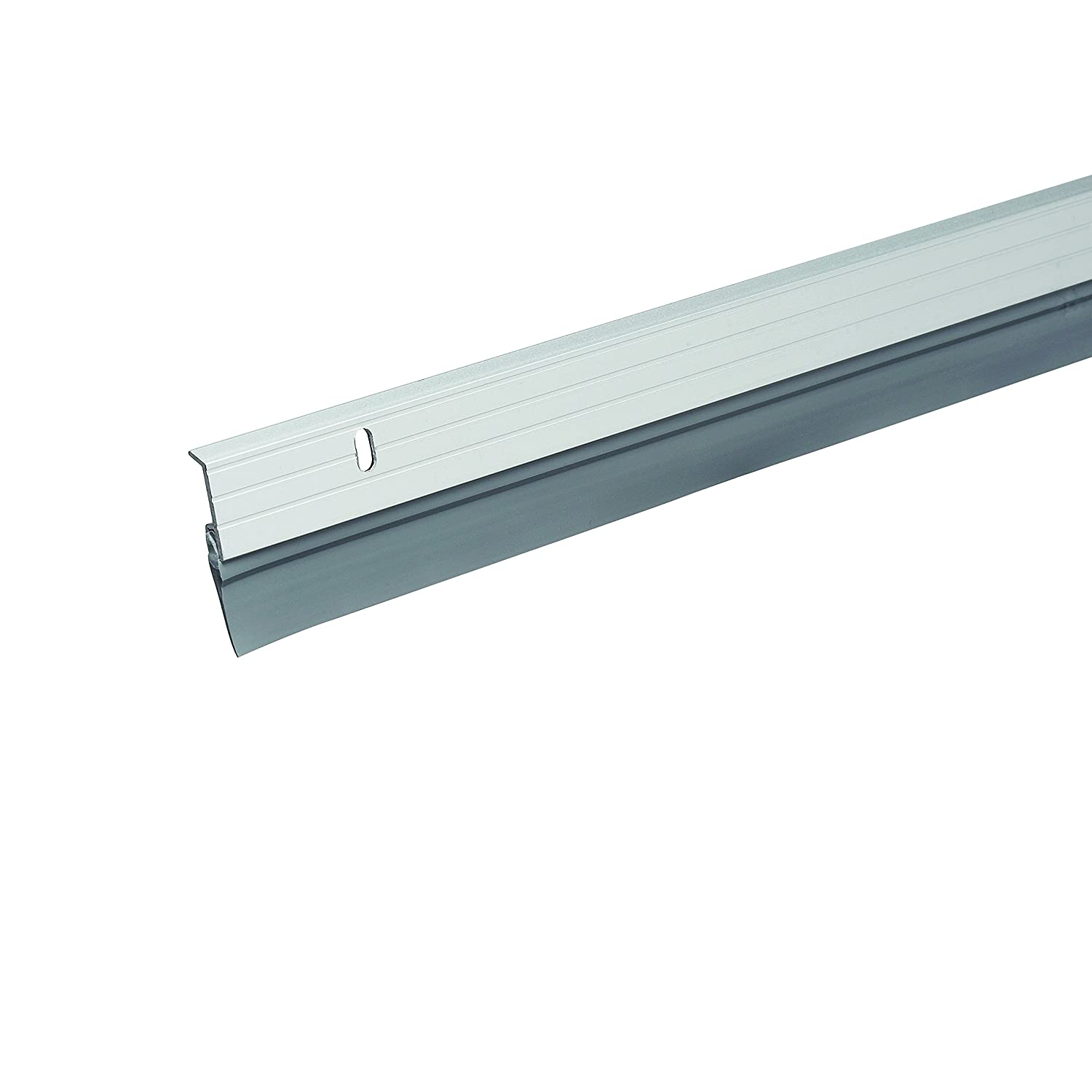 Frost King A59//36H Premium Aluminum And Vinyl Door Sweep 1-5//8 by 36es Silver