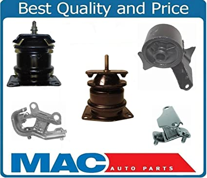 Amazon.com: 1998-2002 Honda Accord V6 3.0L Engine Motor Transmission Mount Kit 5 Pieces New: Automotive