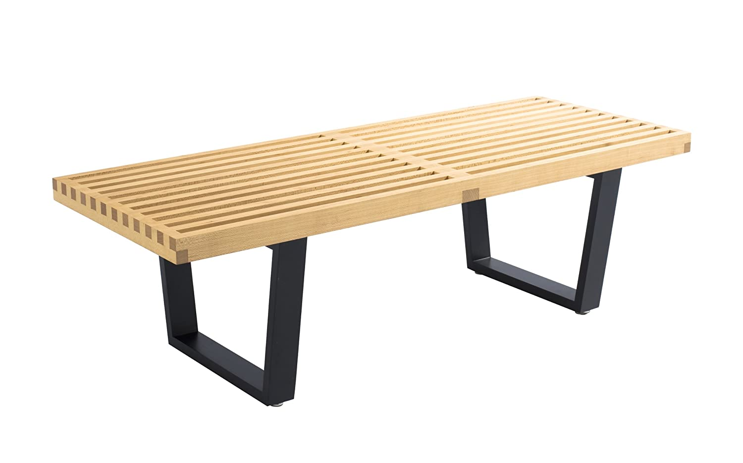 Marvelous Amazon Com George Nelson Bench Table Benches Andrewgaddart Wooden Chair Designs For Living Room Andrewgaddartcom