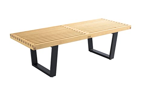 Excellent Amazon Com George Nelson Bench Table Benches Theyellowbook Wood Chair Design Ideas Theyellowbookinfo