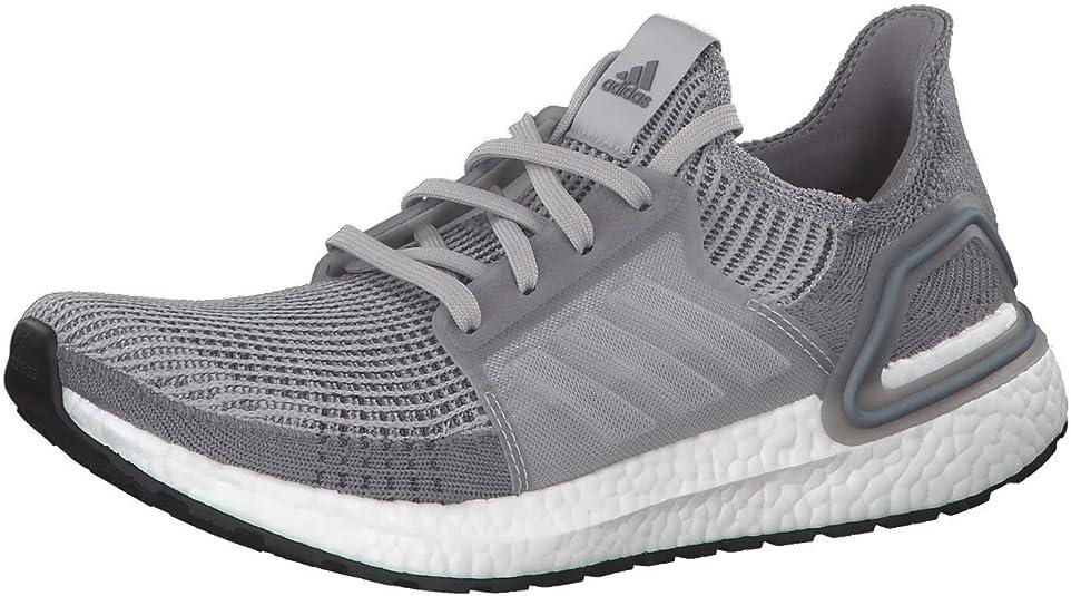 Adidas Ultraboost 19 Zapatilla para correr en Carretera o Camino de tierra ligero con Soporte Neutral para Hombre Gris 45 1/3 EU: Amazon.es: Zapatos y complementos