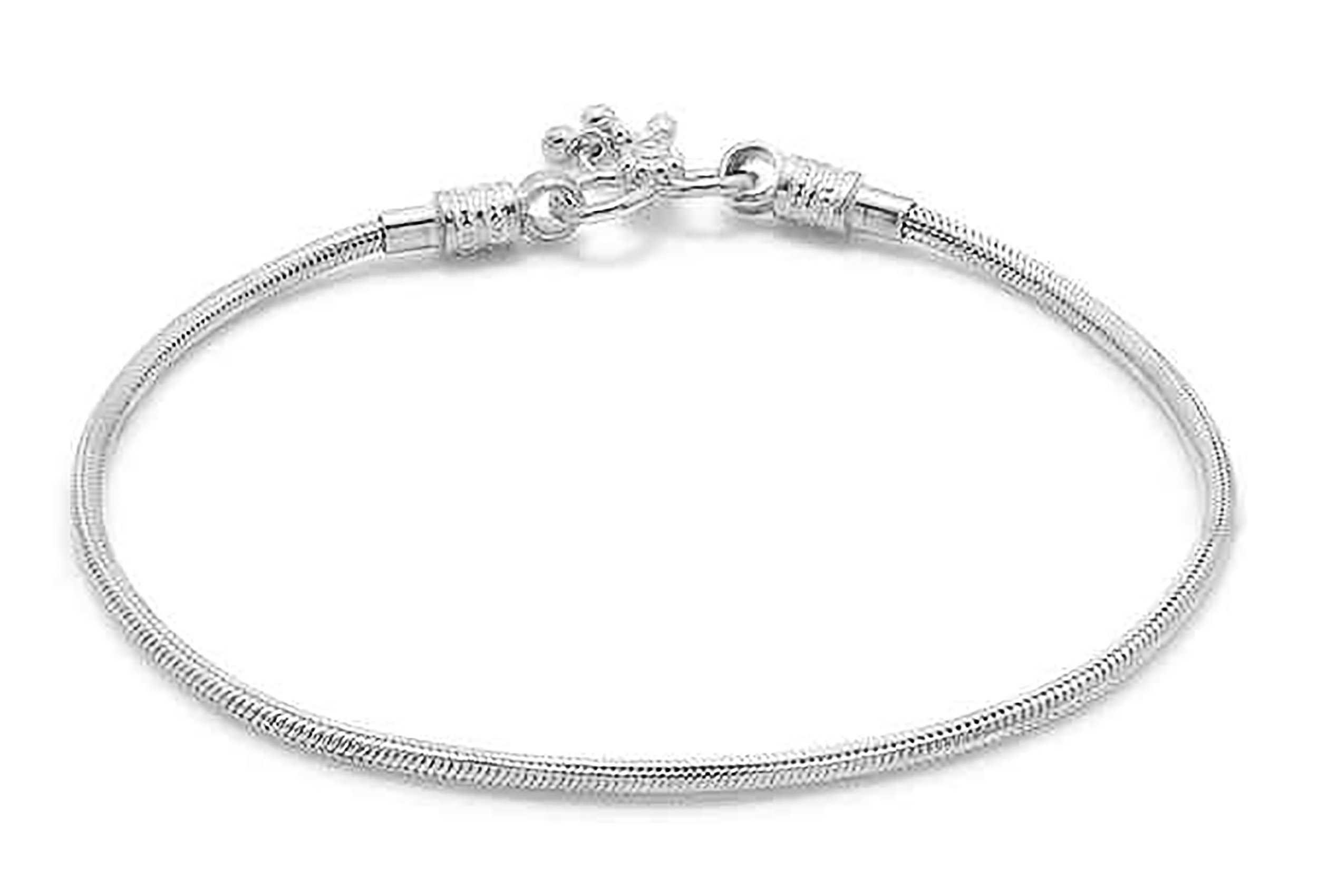 D&D Crafts Sterling Silver Sturdy Look Anklets For Girls, Women by D&D (Image #2)