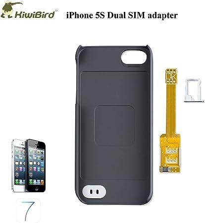 3 En 1 Kiwibird Q Sim Double Carte Sim Multi Carte Sim Coque En Plastique Titulaire Bac Pour L Iphone 5 Et 5s Amazon Fr High Tech