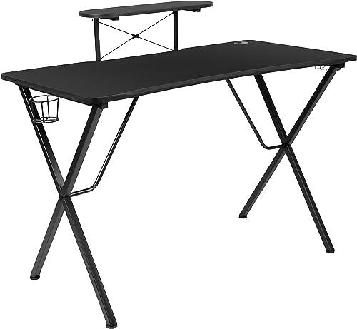 Flash Furniture Black Gaming Desk