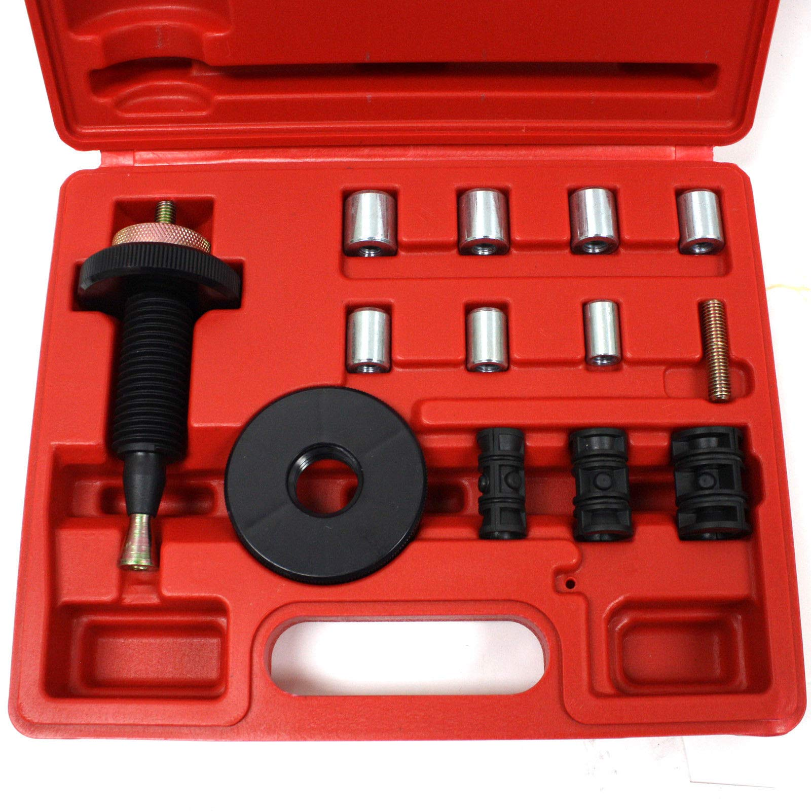M2 Outlet 13 Piece Automotive Professional Universal FF Clutch Alignment Repair Tool Components