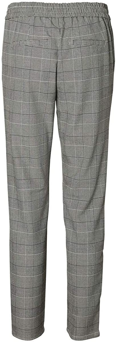 VERO MODA Femme Pantalon vmeva Mr loose String CHECKED PANTS