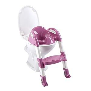 THERMOBABY Kiddyloo Réducteur de WC Rose Orchidée
