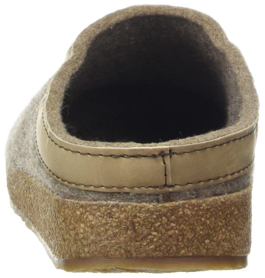 Haflinger 713001-550 Slippers, Filztoffel Grizzly Torben, torf, Gr 43 by HAFLINGER (Image #2)