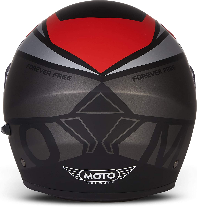 full face cruiser visiera a sgancio rapido XS casco pieghevole modulare flip-up integrale certificazione ECE 53-62 cm XL Casco da moto Moto Helmets/® F19 Gloss Black
