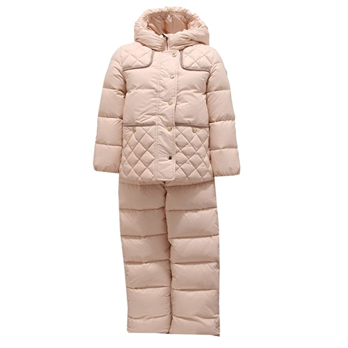 MONCLER 2025V Completo Sci Bimba Girl MELUSIN Down Padded Snow Set: Amazon.es: Ropa y accesorios