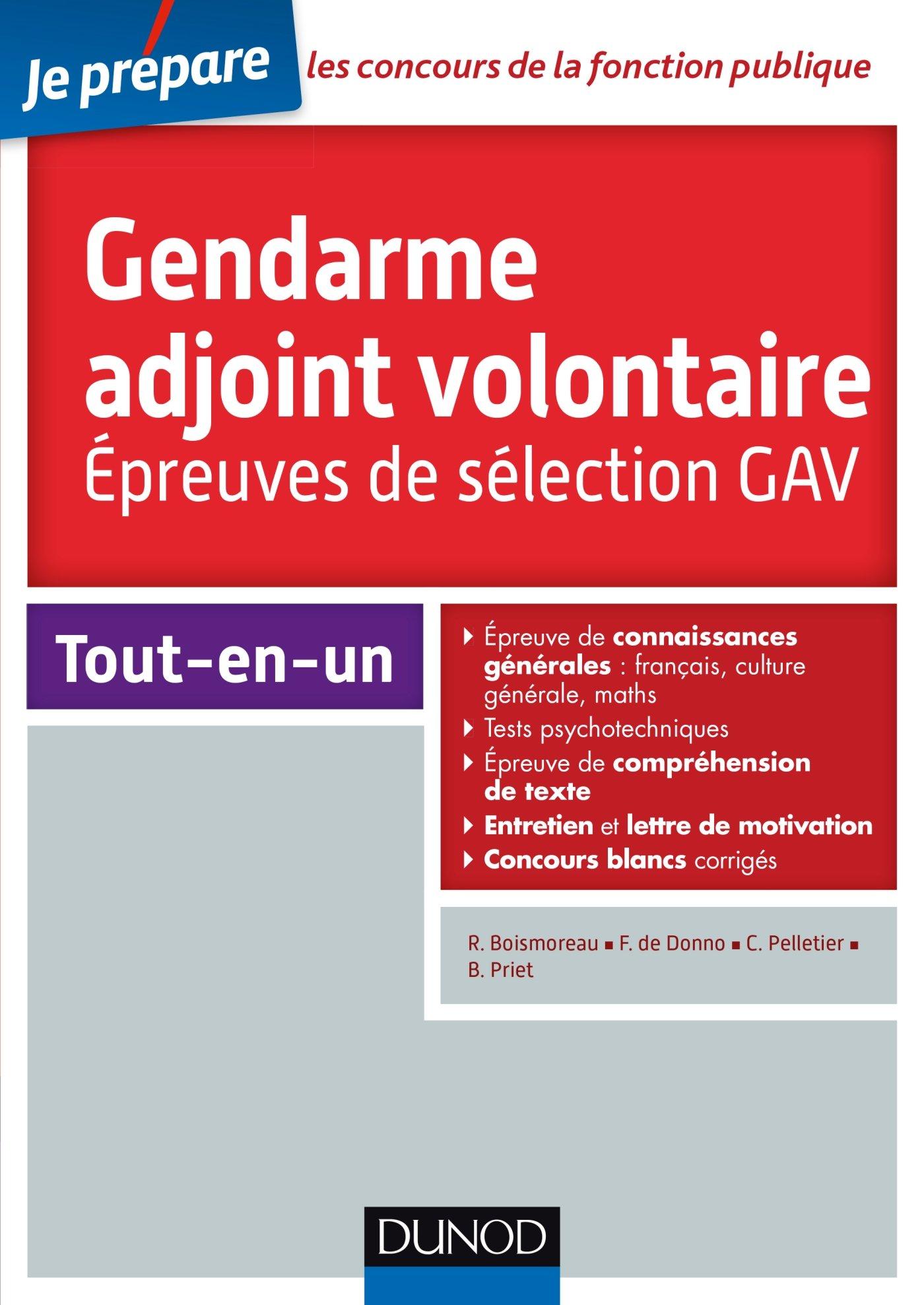 Amazon Fr Concours Gendarme Adjoint Volontaire Epreuves
