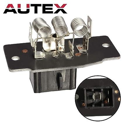 autex manual hvac blower motor resistor ru403 20320 ja1517 4p1379 fits for  01 02 03 04 ford crown victoria/grand marquis mercury grand marquis 87 88  89 90