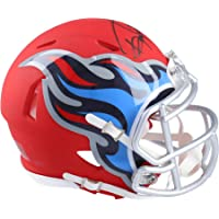 $134 » Derrick Henry Tennessee Titans Autographed Riddell AMP Speed Mini Helmet - Fanatics Authentic Certified