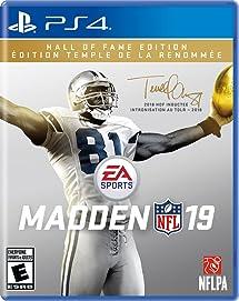 3f04f8b68f Amazon.com  Madden NFL 19  Hall of Fame Edition - PS4  Digital Code ...