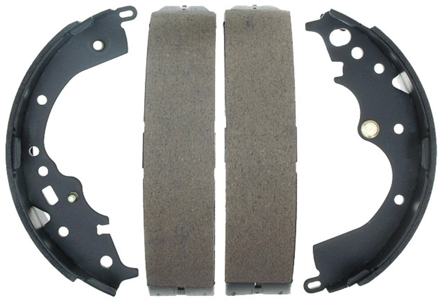 ACDelco 17804B Professional Bonded Rear Drum Brake Shoe Set
