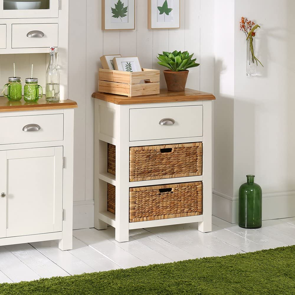 WT40 Cotswold Cream Painted Small Console Table