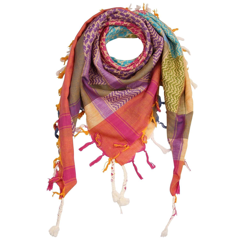 30caa3d2e06b1f Superfreak® Palituch multicolor bunt°PLO Schal°100x100 cm°Pali  Palästinenser Arafat Tuch°100% Baumwolle° alle Farben und Batik