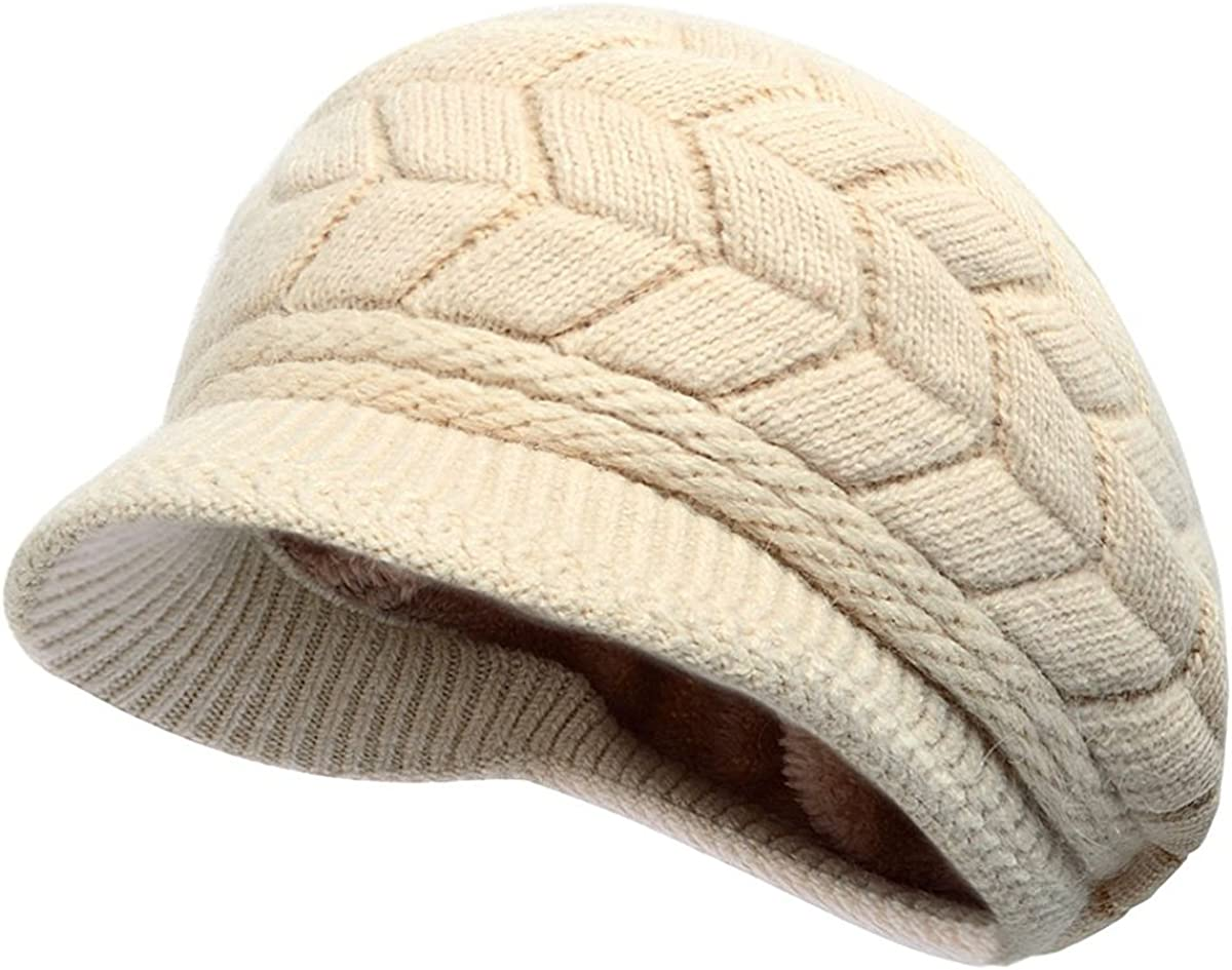 FJ-Direct 2019 Fashion New Women Wool Solid Color Beret Female Bonnet Caps Winter All Matched Warm Walking Hat Cap 20 Color,Dark Green