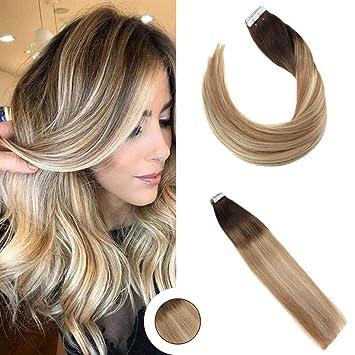 Ugeat 22 Zoll 20 Stuck 50gram Pastel Ombre Haarfarbe 2