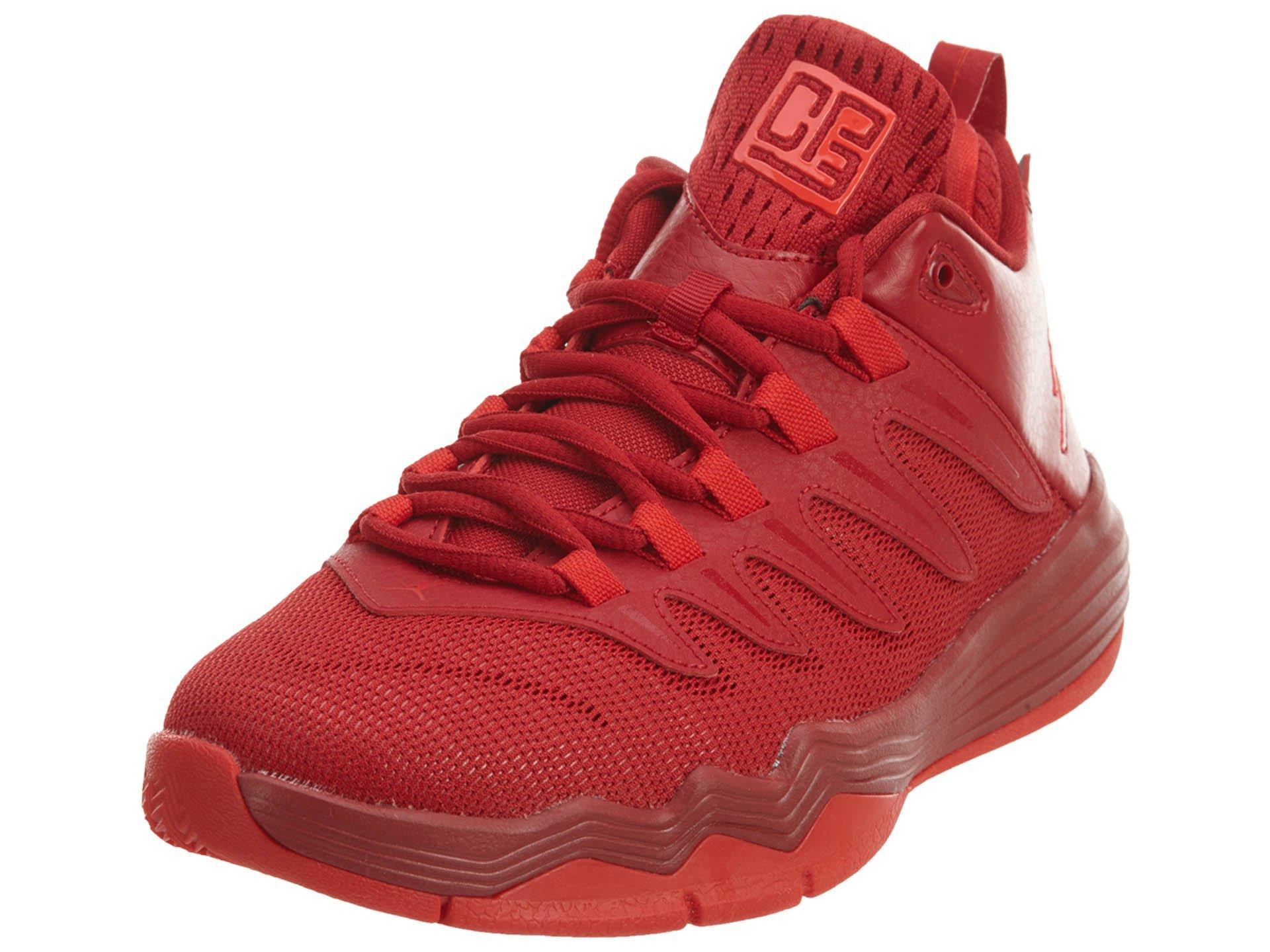 Jordan Nike Kids CP3.IX BG Gym Red/Chlling Red Infrrd 23 Basketball Shoe 5 Kids US by Jordan