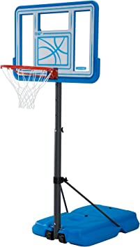 Amazon.com: Por Vida piscina ajustable portátil baloncesto ...