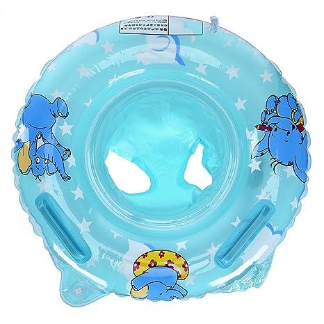 Baby inflable nadar asiento 1 – 3 años – Anillo flotador natación apoyo ayuda Anillo Niño