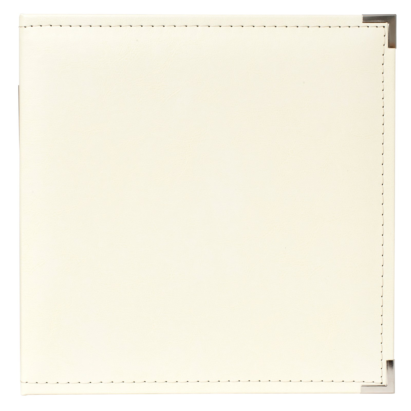 American Crafts We R Memory Keepers Classic Leather D-Ring Scrapbook Album - Acid Free, Archival Quality - Vanilla by We R Memory Keepers