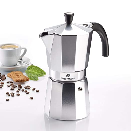 Westmark 24642260 Brasilia - Cafetera italiana (9 tazas ...