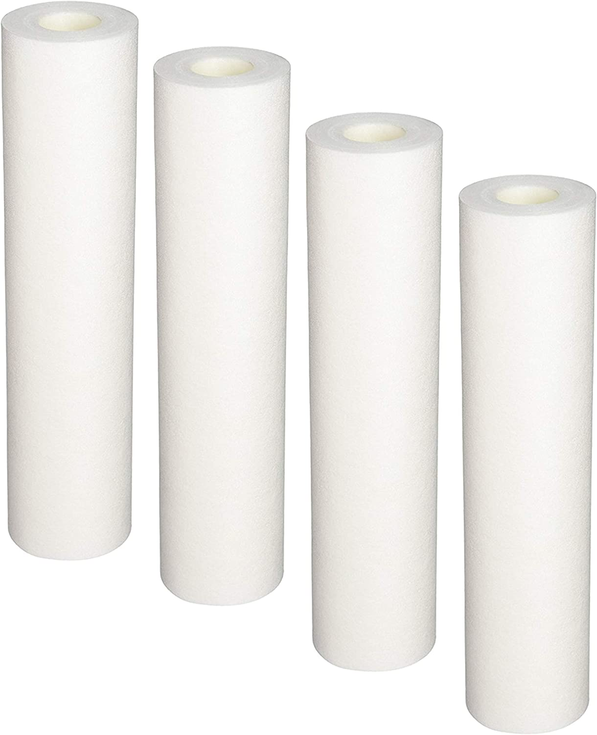 Replacement 10-Inch, Sediment Pre-filters for Whole House Water Filter Systems, 4-pack
