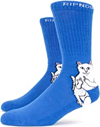RIPNDIP Lord Nermal Socks - Royal