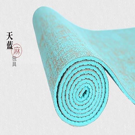 Amazon.com : Alston Childe Natural Jute Yoga Mat Pad 18361 ...