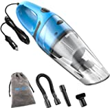 Car Vacuum Cleaner High Power RETECK DC 12v Portable Handheld Car Vacuum Wet Dry 4Kpa Suction Auto Vacuum Cleaner Tools with Cigarette Lighter Plug 14ft Power Cord with Carrying Bag