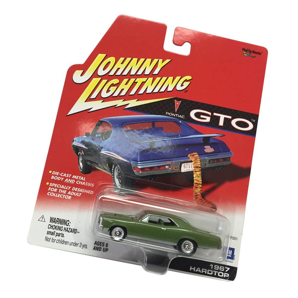 Johnny Lightning Pontiac GTO 1967 Hardtop 1:64 Scale Diecast Replicas