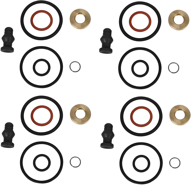 4 X Dichtungssatz Für Einspritzdüse Pumpe Düse Dichtsatz Repsatz Reparatursatz 1 9 2 0 Tdi Motorcode Bkc Bmm Bls Bpw Atd Axr Asz Blt Auto