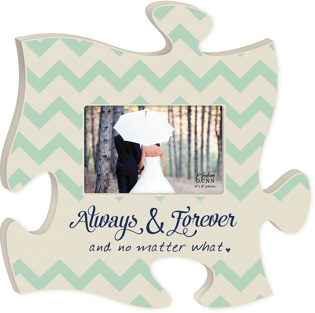 Always and Forever No Matter What 4x6 Photo Frame Inspirational ...