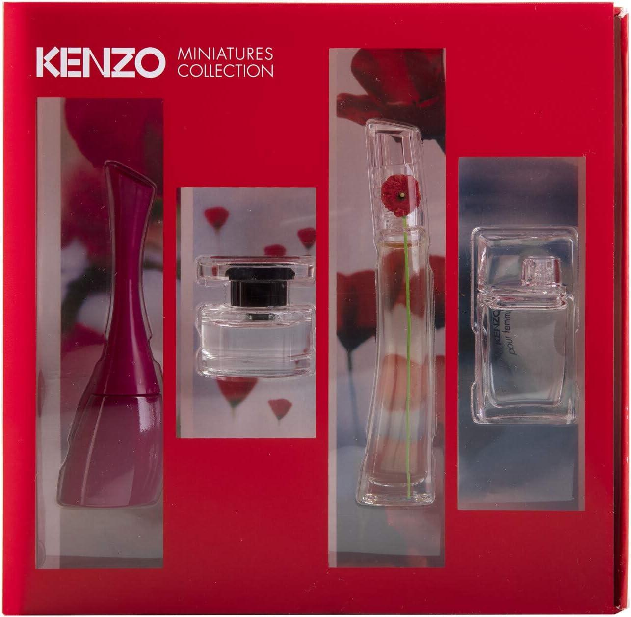 KENZO MINIATURAS MUJER X 4 SET REGALO: Amazon.es: Belleza