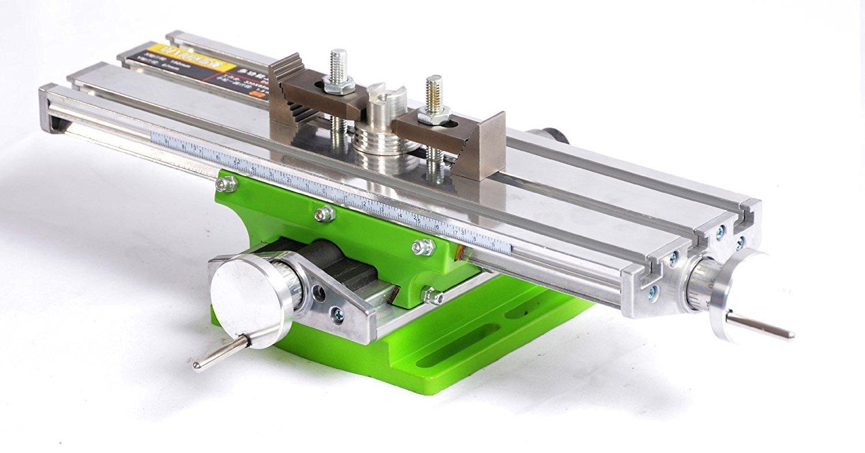 ミニフライス盤マイクロ・クロステーブルミニのヘテロベンチ330×95mm