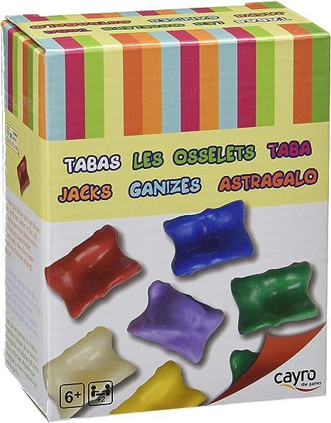 Cayro-854 Juego de Las Tabas +6 años, Multicolor (854): Amazon.es ...