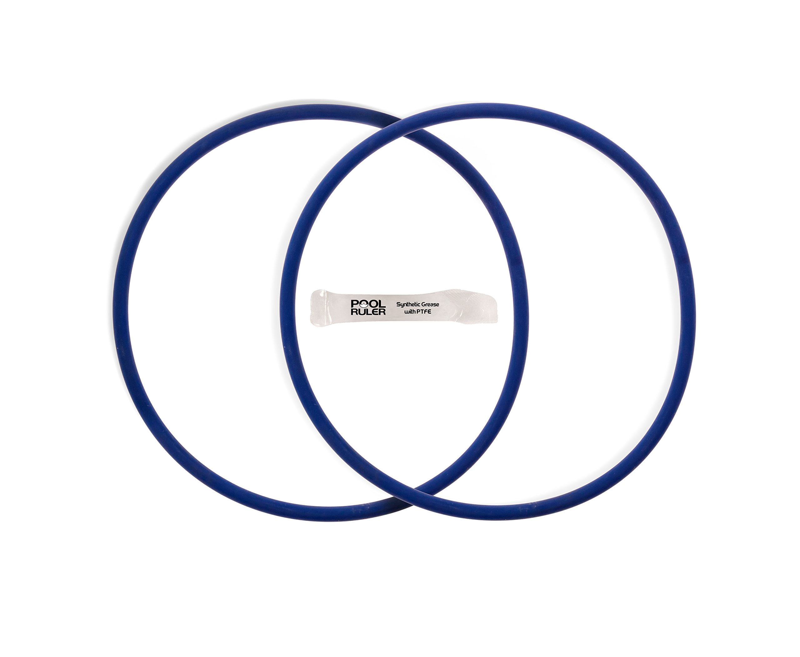 Pool Ruler CLX200K Chlorine Resistant VITON O-Ring TWO Pack + LUBRICANT for Hayward Pool Chlorinator Chemical Feeder Lid CL200 & CL220