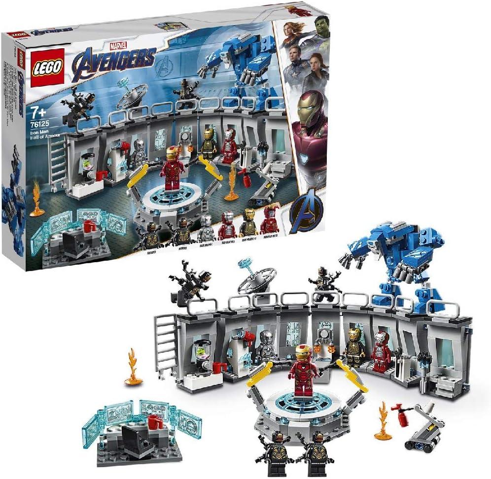 LEGO Marvel Avengers - Iron Man Hall of Armour Costruzioni