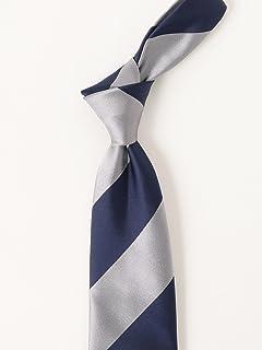 Silk Stripe Tie 21-44-6004-380: Grey