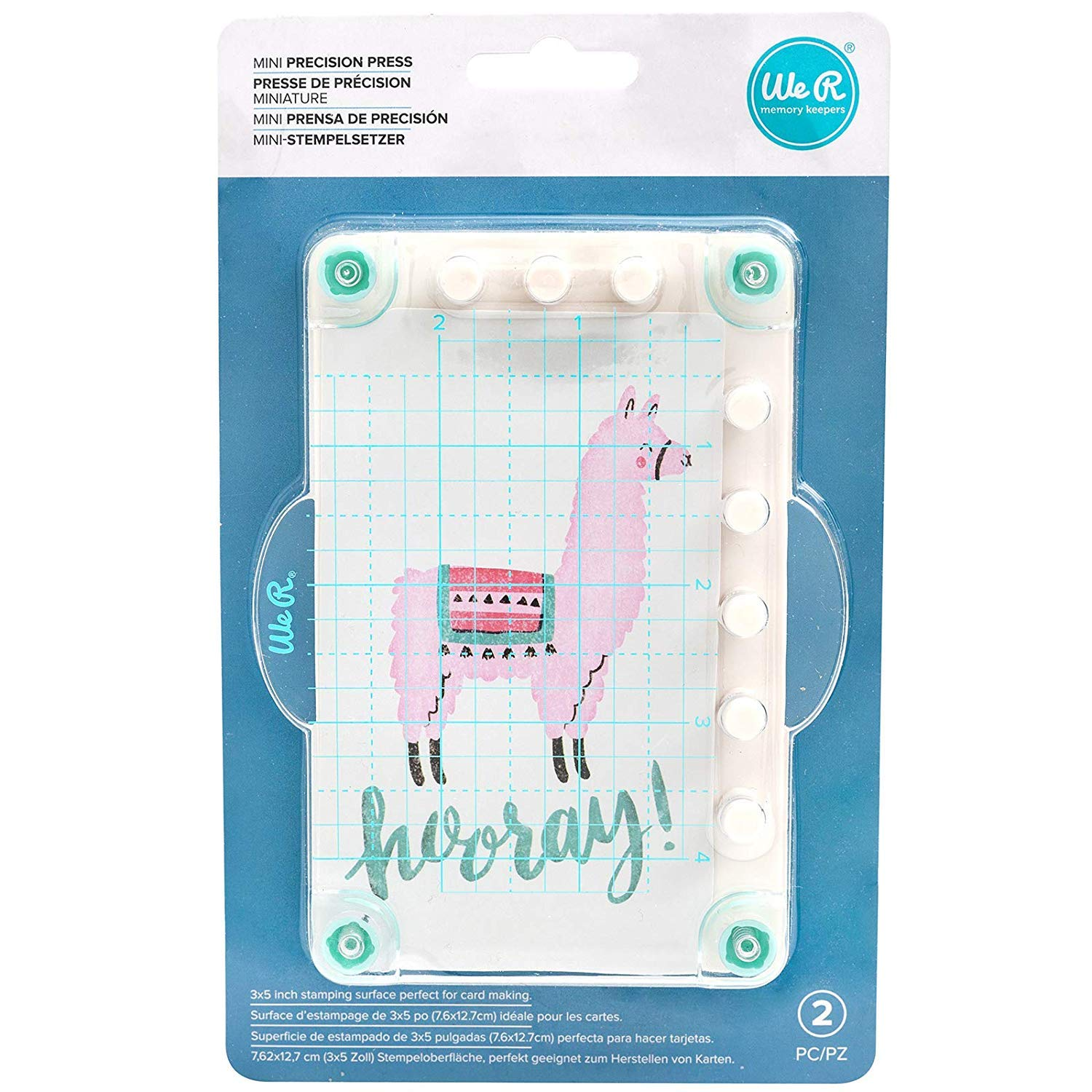 Multi We R Memory Keepers 660701 0633356607014 Accessories Stamping-Mini Precision Press