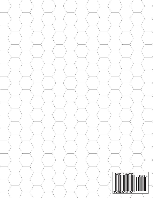 printable hex graph paper