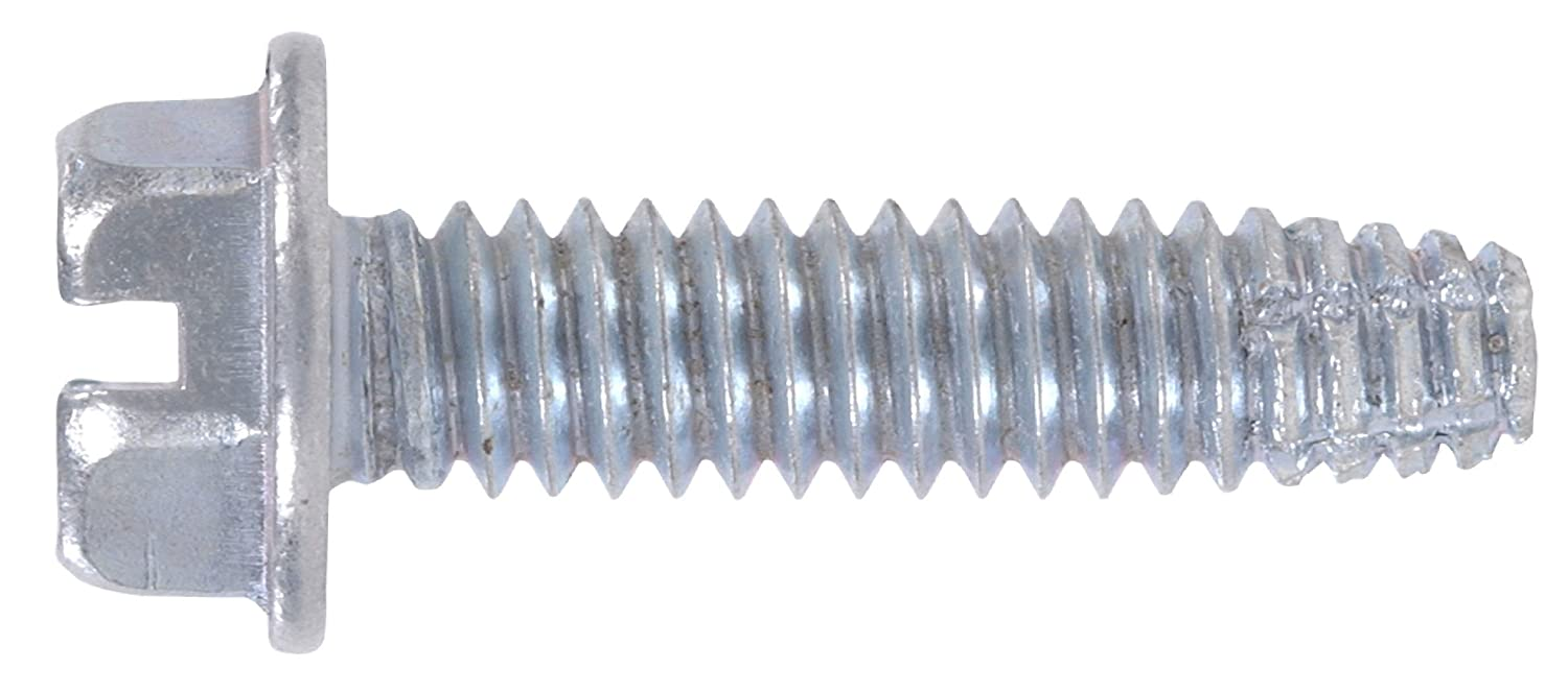 10-Pack The Hillman Group 2676 5//16 x 1-Inch Hex Washer Head Sheet Metal Screw